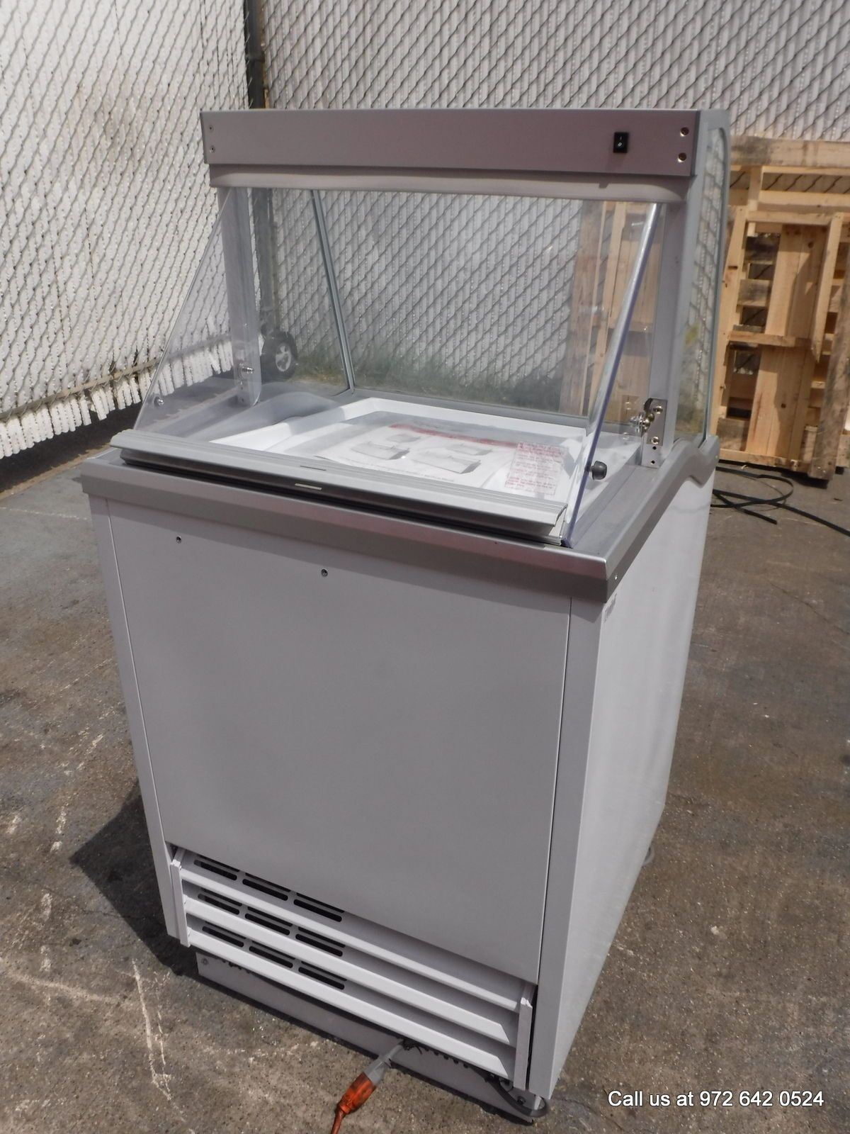 replacement lid home dipping ice birds cabinet two cream parts craigslist